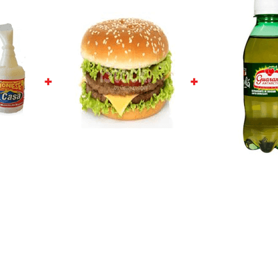 X-Bacon burguer+Mini Refri Coca ou Guarana +Maionese D Casa