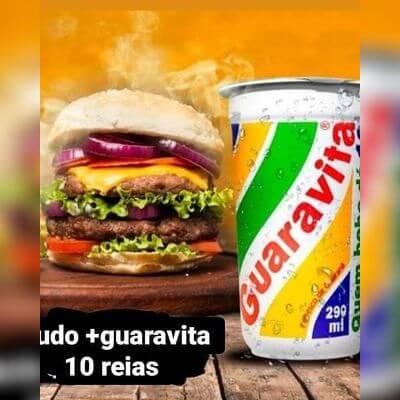 1 X-Tudo + Guaravita