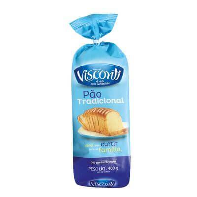 Pão de Forma Visconti Tradicional 400g