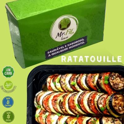 Ratatouille - low carb, sem glúten, sem lactose.