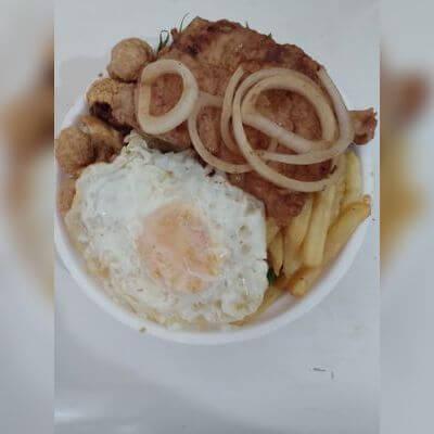 Marmitex Tropeiro Porco