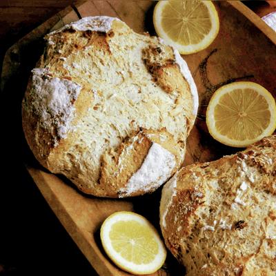 Pão de Limão Siciliano