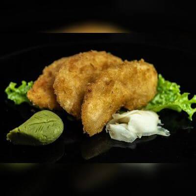 Sashimi Salmão Empanado
