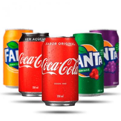 Refrigerantes Lata 350ml