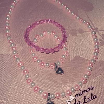 kit colar e pulseiras