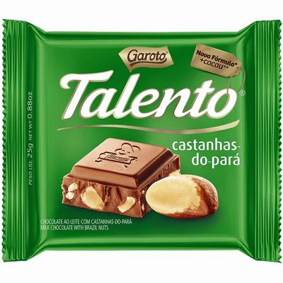 Mini Talento Castanhas-do-Pará 25g