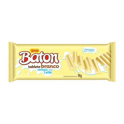 Baton Tablete Chocolate Branco 96g