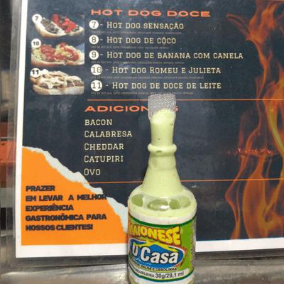 Maionese salsa e cebola (a verdinha)