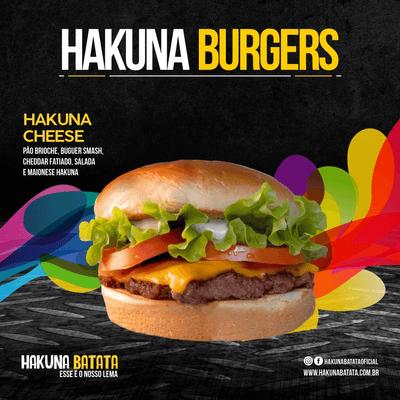Hakuna Cheese + Batata + Refrigerante lata