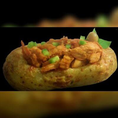 Batata Monster: Frango Frito - 300g de Carne
