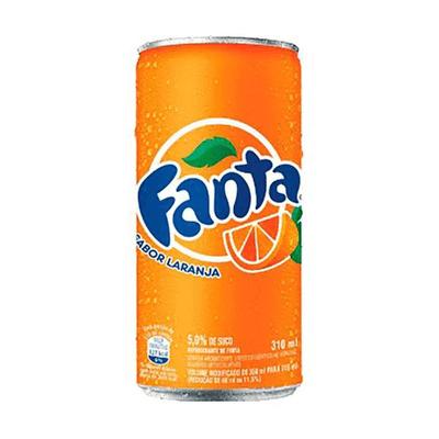 Fanta laranja lata - 310ml