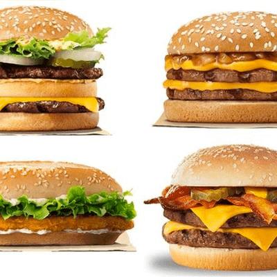 4 X-Bacon Burguer + 4x Hot-dog + 1 Refrigerante 2L + 4x Maionese da Casa
