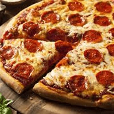 pizza: Calabresa