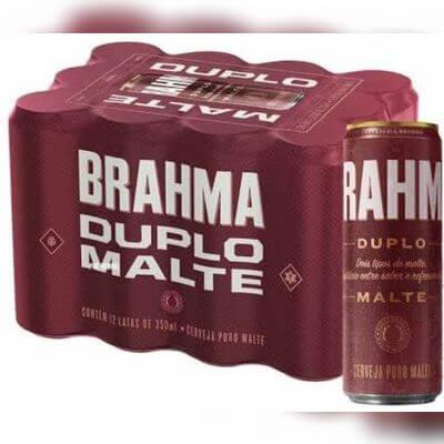 Cerveja Brahma Duplo Malte I 350 ml