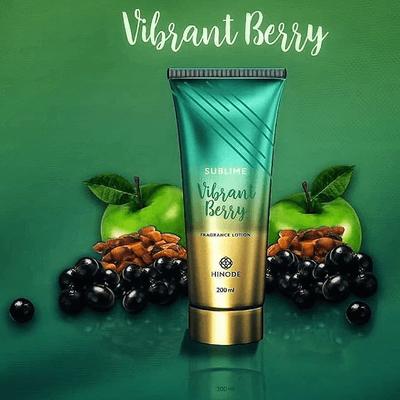 Hidratante Sublime Vibrant Berry 200ml