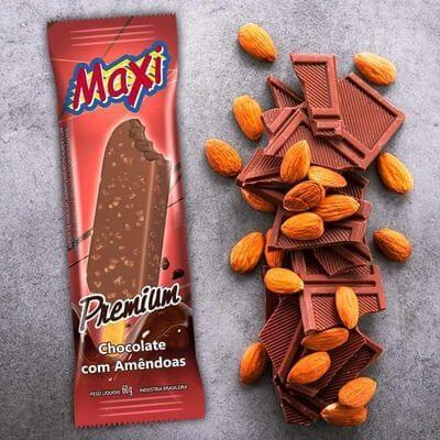 Chocolate Com Amêndoas