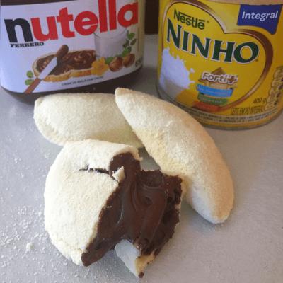 Pastel de Ninho com Nutella