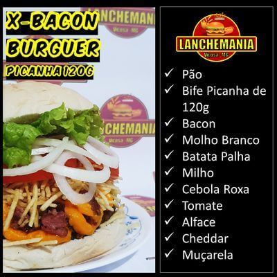 X-Bacon Burguer