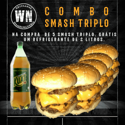 Combos: Combo Smash Triplo