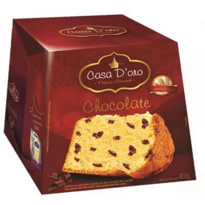 Panettone Casa D'oro 400g - Chocolate