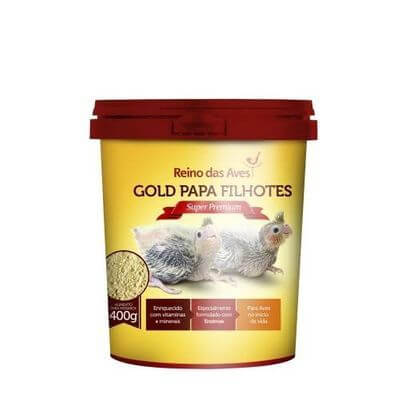 Papa Filhotes Super Premium com Seringa 400g