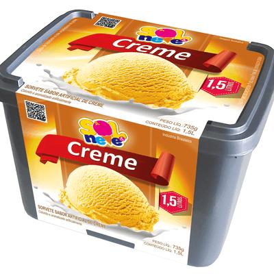 Pote creme amarelo 1,5l