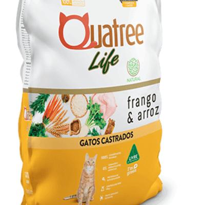 Quatree Life Premium especial Gatos castrados
