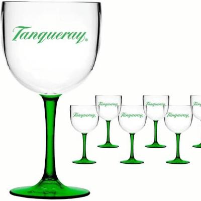 Taça de Acrílico do Tanqueray