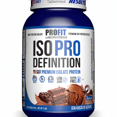ISO PRO DEFINITION (Proteína Isolada)