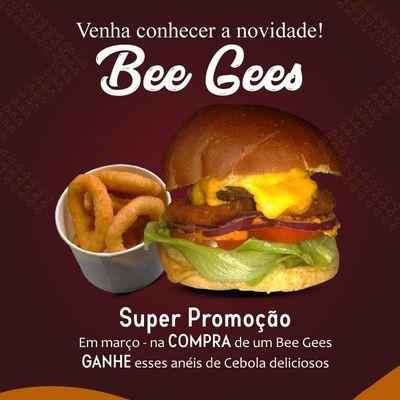 Promoção: Bee Gees Grátis Anéis de Cebola
