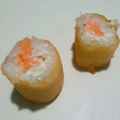 Salmão e Cream Cheese - 4Unid