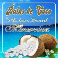 Bala de Coco Me Leva Brasil Minervina