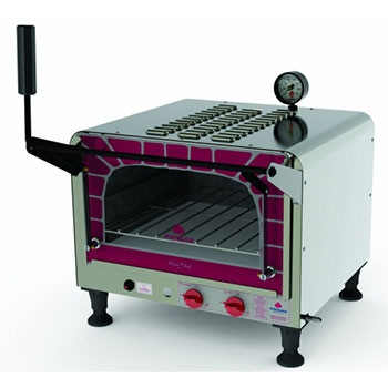 FORNO PROGAS A GAS PRP 400G MINI CHEF