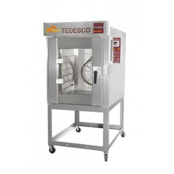 FORNO TEDESCO TURBO A GAS 8 GRADES FTT240G