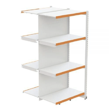 RACK AMAPA CENTRAL CONTINUACAO 2M BASE + 3 BAND 50CM BRANCO